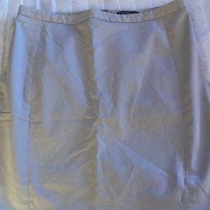 Express Tan Skirt